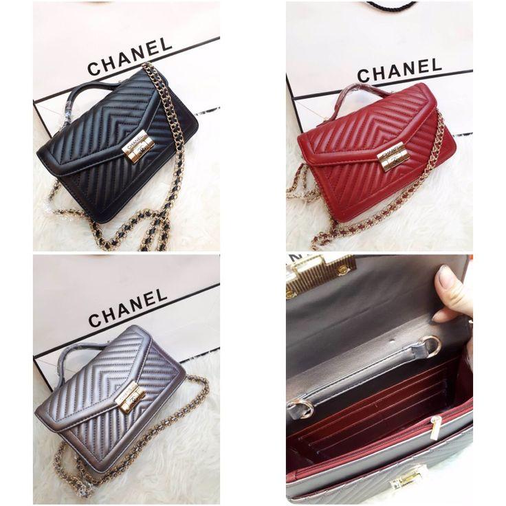 Tas Chanel Chevron Bubble 7094 23x7x16 200rb