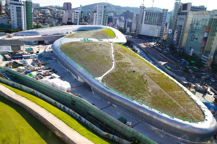 DDPP Seoul, South Korea UltraPly TPO MEC + Ballasted 20.000 m²