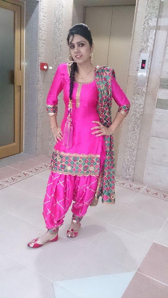 Punjabi suit @amu