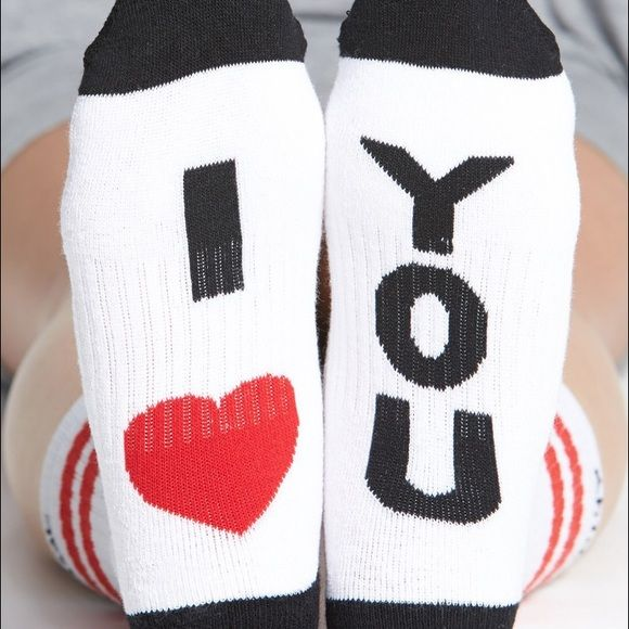 """I ❤️ You"" Arthur George by Rob Kardashian socks ""I ❤️ You"" Arthur George by Rob Kardashian socks. Buy more save more. Wonderful arch support, thick, warming and shoe size 5-11. Free gifts with purchase. 15% off bundles! Steph Arthur George Accessories Hosiery & Socks"