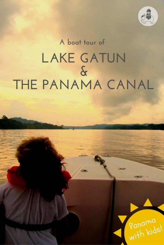 The Panama Canal with Kids: A Boat Tour of Lake Gatun. There are myriad ways to experience Panama's most famous attraction! One of the most popular options is to visit the Miraflores Locks but my favourite way to experience the Panama Canal with kids is by taking a boat tour of the canal's backwaters and Gatun Lake. This is what the tour entails...