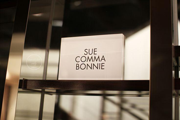 SUE COMMA BONNIE 슈콤마보니 14fw 프리젠테이션 에프터파티 #farti #SuecommaBonnie