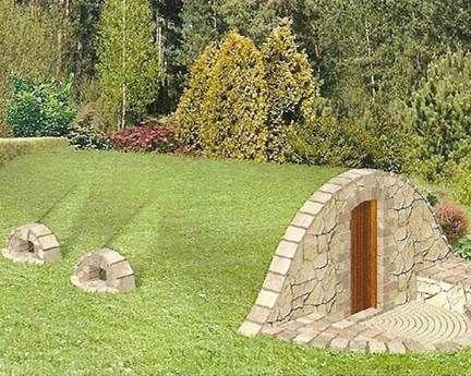 Ogrodowa piwniczka (ziemianka) :: BUILD- SPORT- TRAFFIC