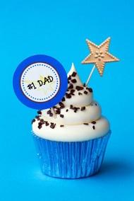 Maak vaderdag-cupcakes