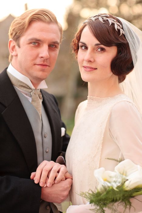 Best TV Wedding Ever? #DowntonAbbey