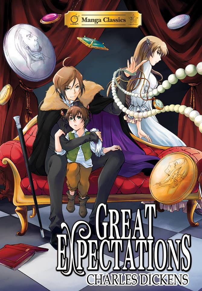 Covers Revealed! The fantastic and thrilling cover illustration for Charles Dickens' GREAT EXPECTATIONS! Look for it in Spring 2015! Manga Classics: Great Expectations By Charles Dickens. Adapted by Crystal Chan. Edited by Stacy King. Illustrated by Nokman Poon. Great Expectations has it all: romance, mystery, comedy, and unforgettable characters woven through a gripping rags-to-riches tale. http://on.fb.me/1vlFWX3 #GreatExpectations #CharlesDickens #Dickens #MangaClassics #SoftCover