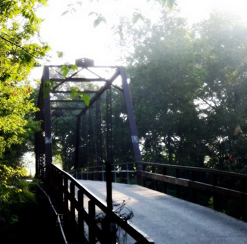 Old bridge - near Ozark, MO. I lived down this road. The start of Parched Corn Holler.
