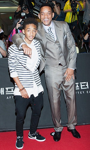 """Will Smith and Son Jaden. """"I think I made a joke in Tokyo,"""" Will told Ellen of their father-son press tour. """"My baby boy, he's never leaving me ever. No emancipation for the Smith kids.""""  Jaden elaborated, adding that he's got it pretty good at his dad's place.""""I'm not going anywhere. The thing that people don't get is that everything at his house is free. I think [I'll be] there for 20 or 30 more years,"""" he said.Click to read more... ~Will you see """"After Earth?"""""""