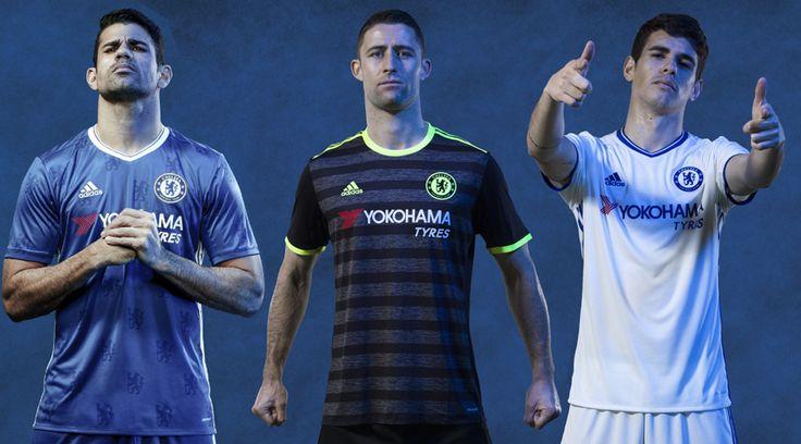 Camisas do Chelsea Adidas 2016-2017
