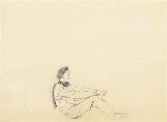 Andrew Wyeth, Allen (Oodie) Lynch