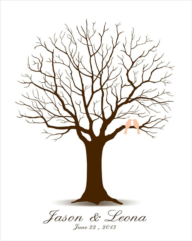 fingerprint template sample - 31 best images about trees on pinterest wedding trees