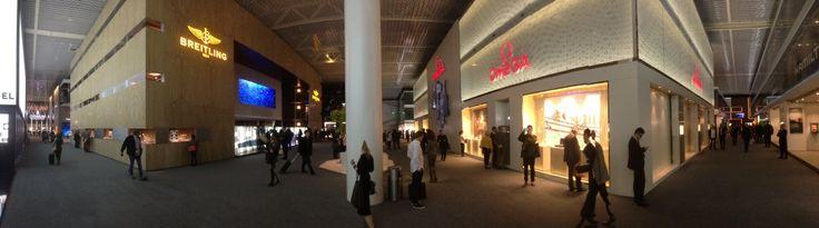 Omega & Breitling at Baselworld