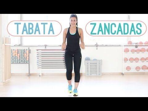 TABATA INTENSA CON ZANCADAS PARA PERDER PESO - YouTube