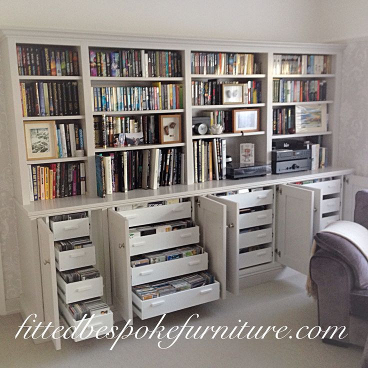 Dresser | Bookcase | Fitted Living Room Storage | Hand Made And Hand  Painted | Drawers