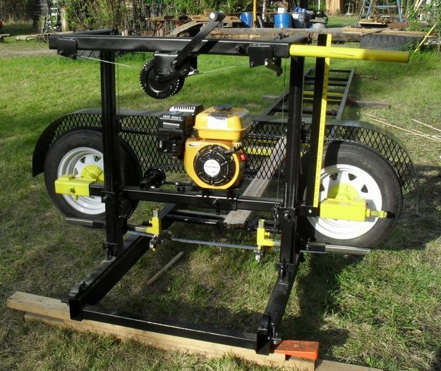A sawmill is essential for advanced builders | 34 Must-Have Tools for Homesteading http://pioneersettler.com/best-homesteading-tools