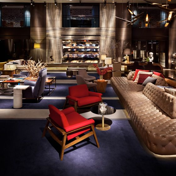 The Paramount has always been the height of hip, since the days when that word was still purely anatomical, through its evolution under the creative control of Studio 54 mastermind turned hotelier icon, Ian Schrager, to this newly-unveiled $40million incarnation we bring you now....