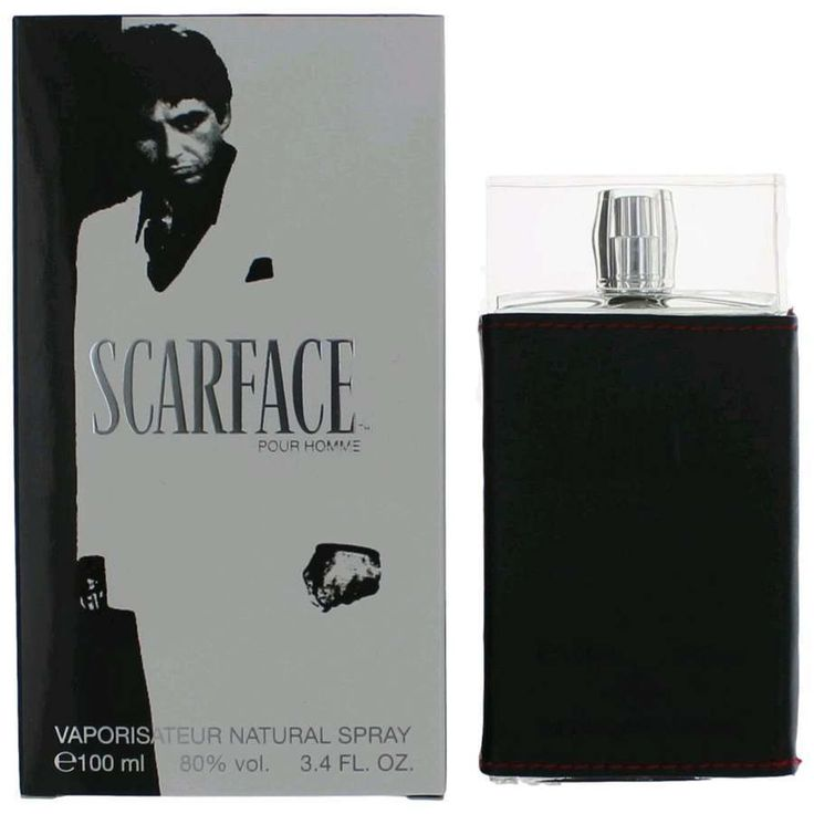Scarface Cologne by Universal Studios 3.4 oz EDT Spray for Men NEW IN BOX #UniversalStudios