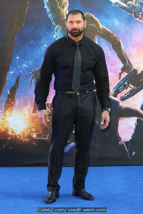 David Bautista 'Guardians of the Galaxy' UK Premier held at the Empire Cinema, Leicester Square http://icelebz.com/events/_guardians_of_the_galaxy_uk_premier_held_at_the_empire_cinema_leicester_square/photo6.html
