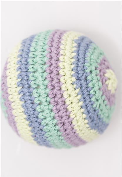1408: Modell 17c Heklet ball #hekle #bomull
