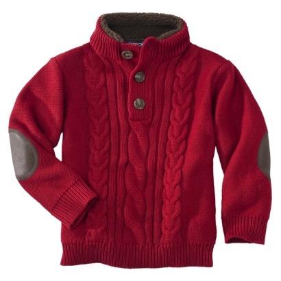 Cherokee® Infant Toddler Boys Long-Sleeve Sweater