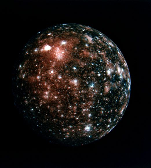 callisto. one of jupiter's moons and one of my very favorite things in space. - Bing Images