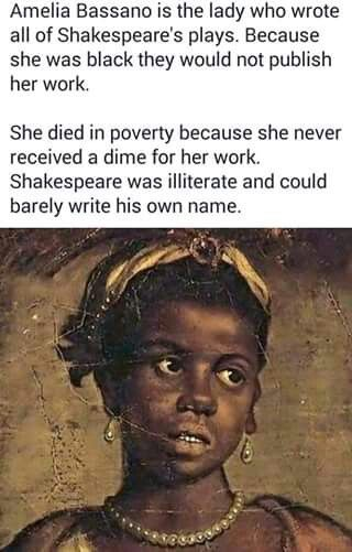 Shakespeare She was a Sicilian from southern Italy of morrish and west African descent. Proven in all other Sicilians today as well.
