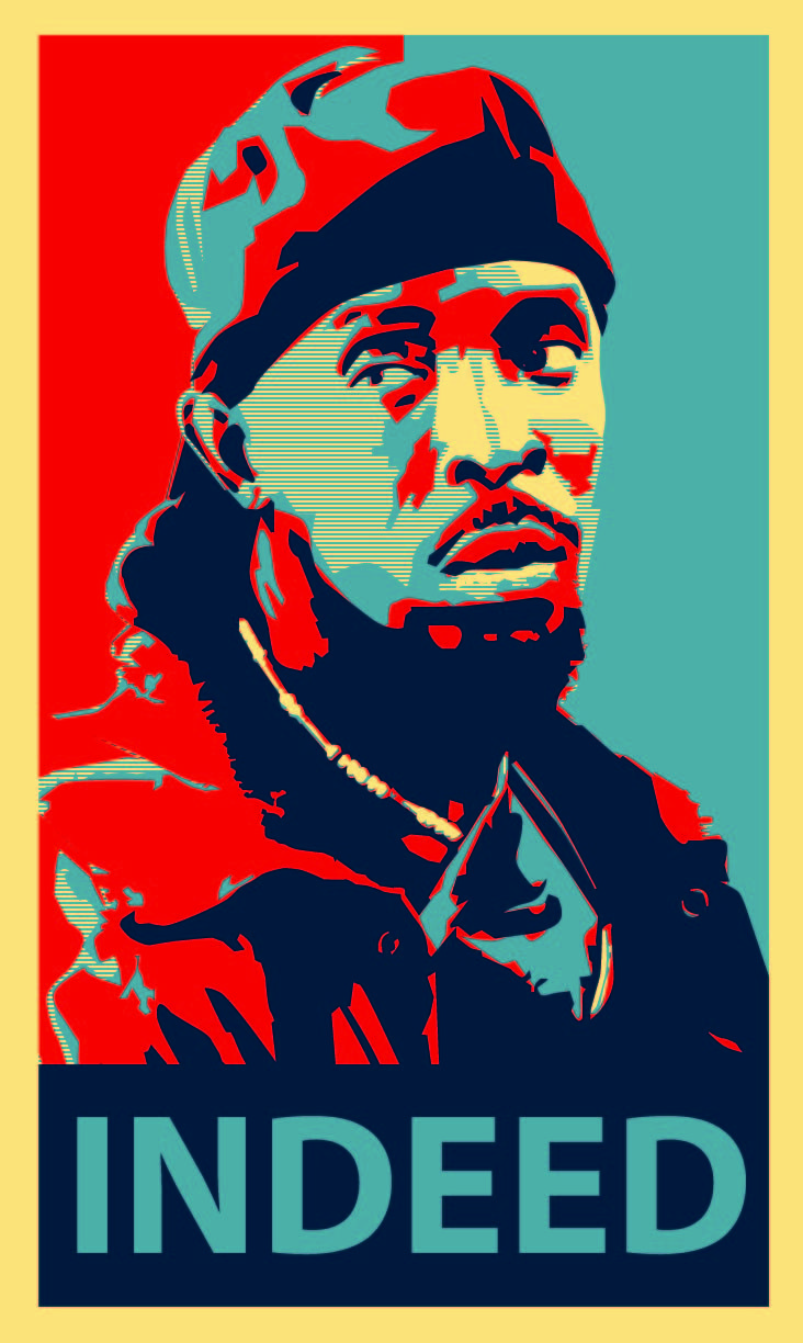 Omar Little From The Wire
