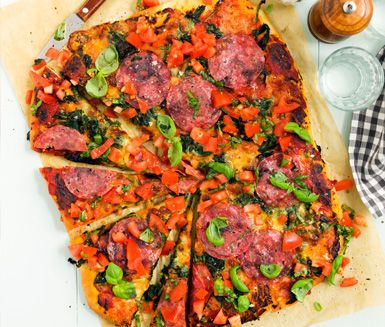Perfect pizza dough.