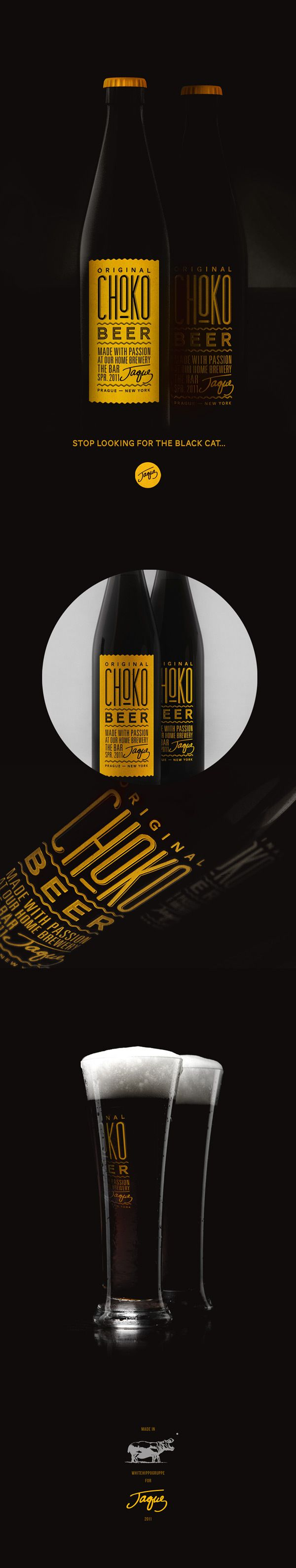 CHOCOBEER by Dmitry Gerais, via Behance.   Chocolate beer sounds interesting IMPDO. Anybody had this?
