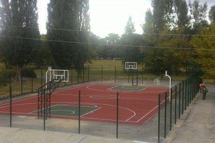 Строительство баскетбольных площадок. Баскетбольная площадка во дворе