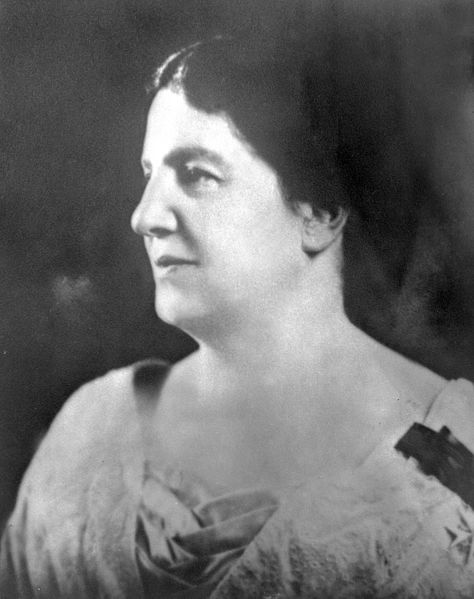 """EmilyMurphy- leader of the five along with Nellie McLung, who demanded the right to vote with the """"Persons Case"""" in 1916"""