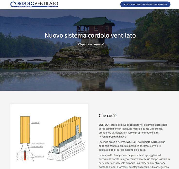 Nuovo sito web per il sistema Cordolo Ventilato by Soltech. Visita la pagina: www.cordoloventilato.it