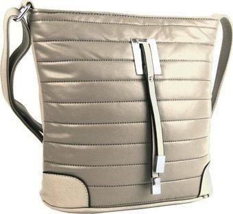 Elegantní prošívaná crossbody kabelka YH1604 béžová dle obrázku New Berry 0 newb_4547