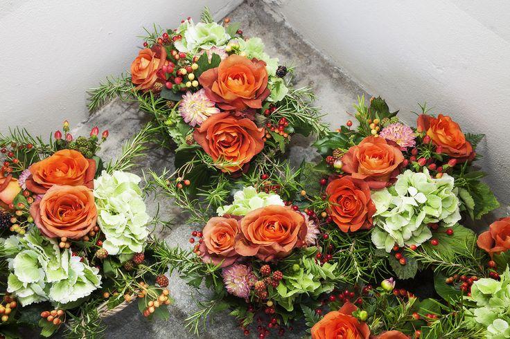 Composizioni floreali per il ricevimento #matrimonio
