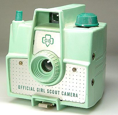 Love it!!!! Vintage Girl Scout Camera