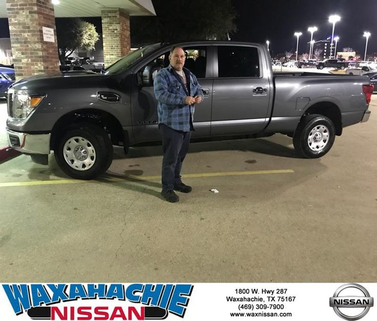 Congratulations Todd on your #Nissan #Titan XD from Radford Pannell at Waxahachie Nissan!  https://deliverymaxx.com/DealerReviews.aspx?DealerCode=Y811  #WaxahachieNissan