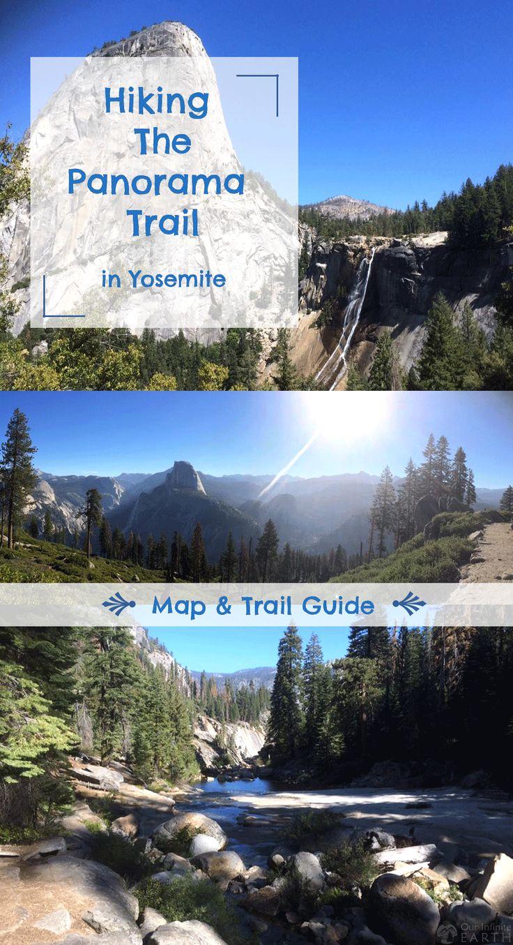 Panorama Trail Guide u0026 Map Yosemite