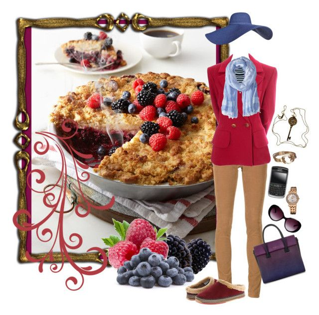 """""""mixed berry pie (contest entry)"""" by whimsical-angst ❤ liked on Polyvore featuring Sweet Lady Jane, A.L.C., AG Adriano Goldschmied, Yves Saint Laurent, Lauren Ralph Lauren, bürgi, Deer Stags, Nuevo, Tiffany & Co. and Moschino"""