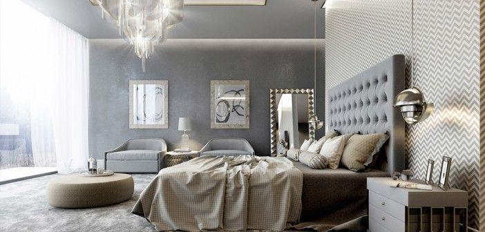 25 beste idee n over luxe slaapkamers op pinterest moderne slaapkamers slaapkamer interieur - Ontwerp bed hoofden ...