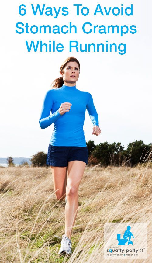 how to get rid of stomach cramps while running