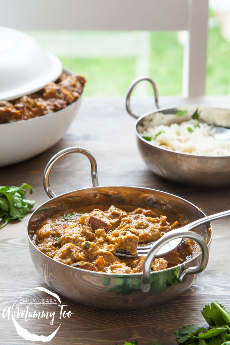 Slow cooked, one-pot, melt-in-the-mouth lamb korma - A Mummy Too