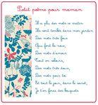 Petit poème pour les mamans