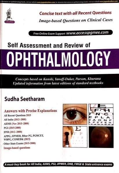 Kết quả hình ảnh cho Self Assessment and Review of Ophthalmology.pdf
