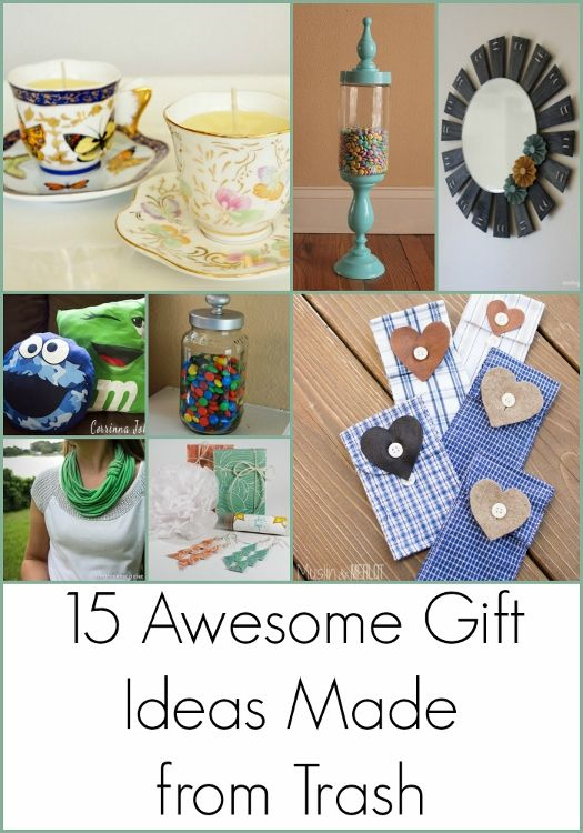 15 Awesome Repurposed Gift Ideas Made from Trash