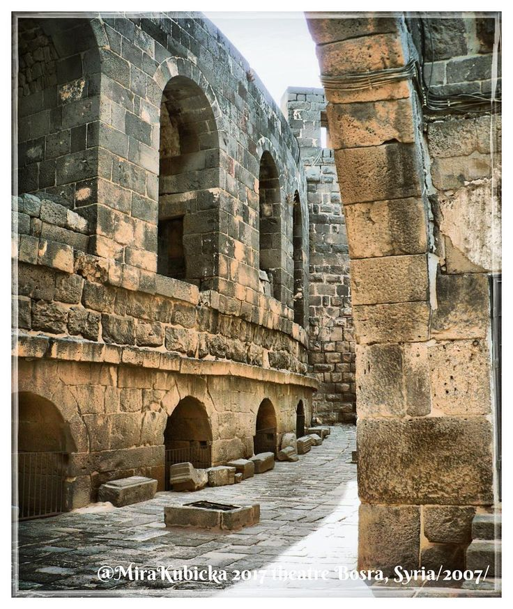 #bosra #theatre #syria #ruins #history #heritage #art #architecture #statue #sculpture #travel #2007 #photo #myphoto #photography #photos #oldtheatre #old