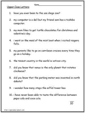 78 Best images about Punctuation/Capital Letters on Pinterest ...