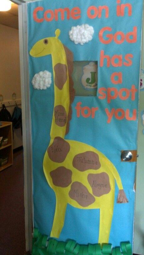 Best 20 preschool displays ideas on pinterest for Back to school door decoration