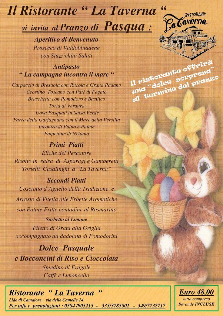 Pranzo di Pasqua da Ristorante La Taverna a Camaiore