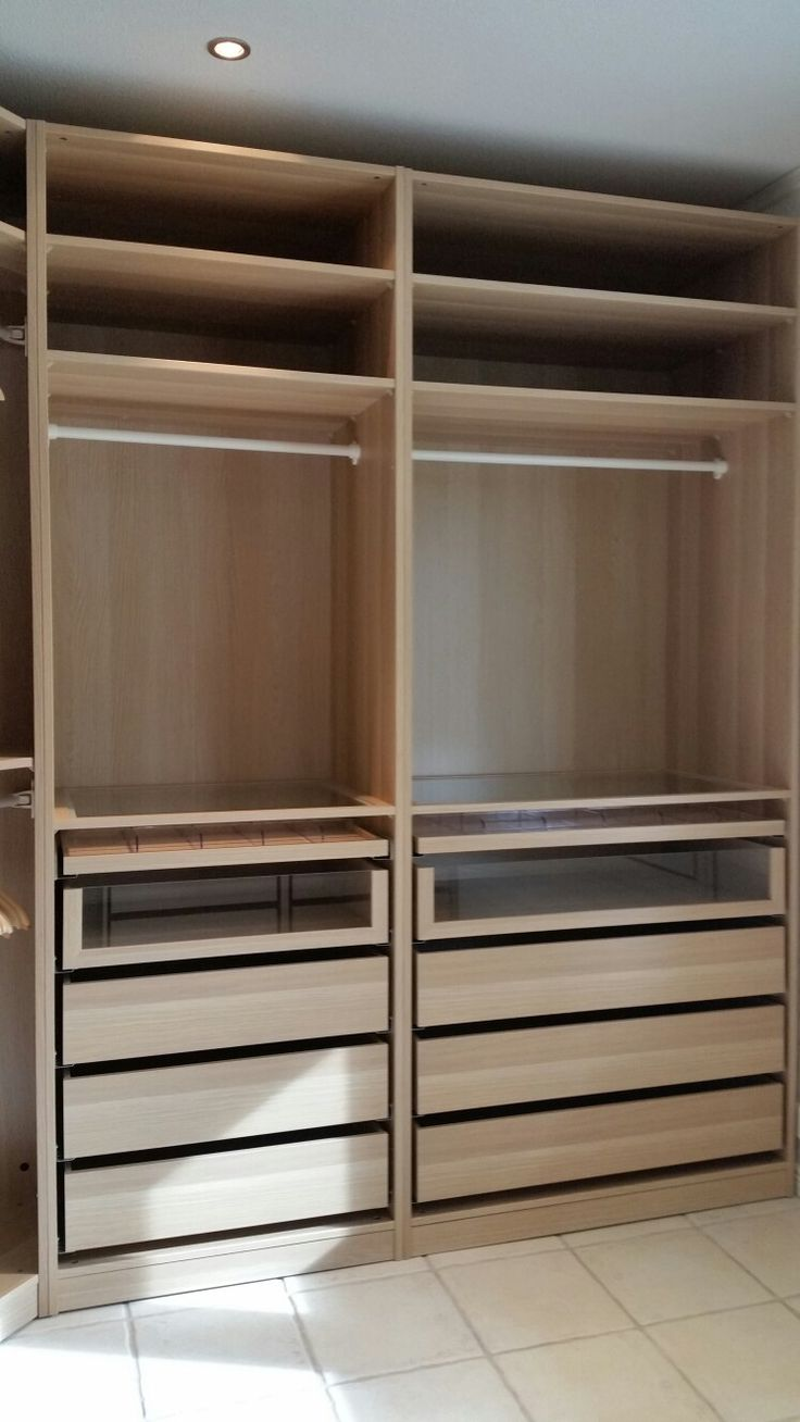 My Ikea Pax White Oak Walk In Closet Part 92