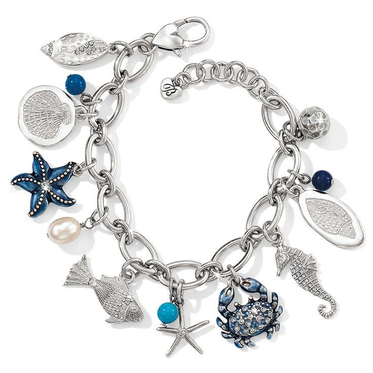 Brighton Seascape Charm Bracelet